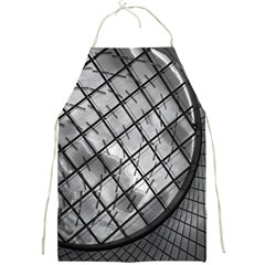 Architecture Roof Structure Modern Full Print Aprons by Onesevenart