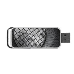Architecture Roof Structure Modern Portable Usb Flash (two Sides) by Onesevenart