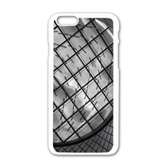 Architecture Roof Structure Modern Apple Iphone 6/6s White Enamel Case by Onesevenart
