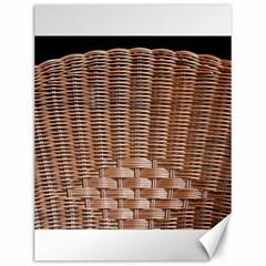Armchair Folder Canework Braiding Canvas 12  X 16   by Onesevenart