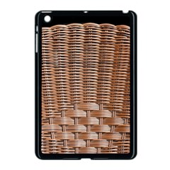 Armchair Folder Canework Braiding Apple Ipad Mini Case (black) by Onesevenart