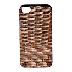 Armchair Folder Canework Braiding Apple Iphone 4/4s Hardshell Case With Stand by Onesevenart