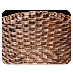 Armchair Folder Canework Braiding Double Sided Flano Blanket (medium)  by Onesevenart