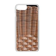 Armchair Folder Canework Braiding Apple iPhone 7 Plus White Seamless Case by Onesevenart