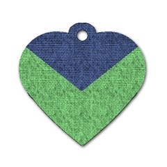 Arrow Texture Background Pattern Dog Tag Heart (two Sides) by Onesevenart