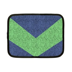 Arrow Texture Background Pattern Netbook Case (small)  by Onesevenart