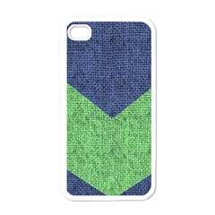 Arrow Texture Background Pattern Apple Iphone 4 Case (white) by Onesevenart