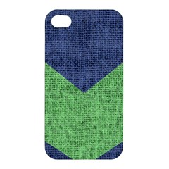 Arrow Texture Background Pattern Apple Iphone 4/4s Premium Hardshell Case by Onesevenart