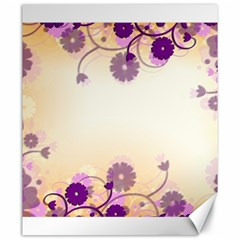 Background Floral Background Canvas 20  X 24   by Onesevenart