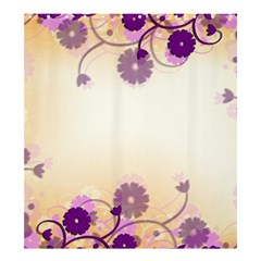 Background Floral Background Shower Curtain 66  X 72  (large)  by Onesevenart