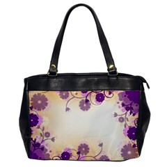 Background Floral Background Office Handbags by Onesevenart