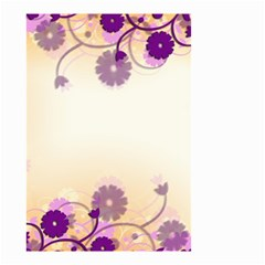 Background Floral Background Small Garden Flag (two Sides) by Onesevenart