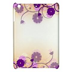 Background Floral Background Apple Ipad Mini Hardshell Case by Onesevenart