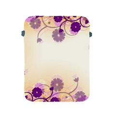 Background Floral Background Apple Ipad 2/3/4 Protective Soft Cases by Onesevenart