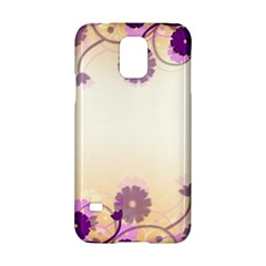 Background Floral Background Samsung Galaxy S5 Hardshell Case  by Onesevenart