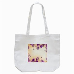 Background Floral Background Tote Bag (white) by Onesevenart