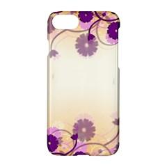 Background Floral Background Apple Iphone 7 Hardshell Case by Onesevenart