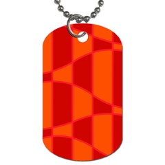 Background Texture Pattern Colorful Dog Tag (one Side) by Onesevenart