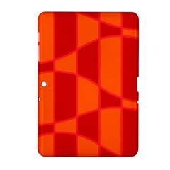 Background Texture Pattern Colorful Samsung Galaxy Tab 2 (10 1 ) P5100 Hardshell Case  by Onesevenart