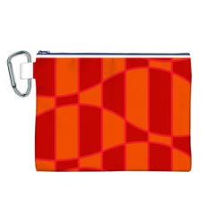 Background Texture Pattern Colorful Canvas Cosmetic Bag (l) by Onesevenart