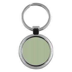 Background Pattern Green Key Chains (round)  by Onesevenart