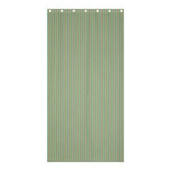 Background Pattern Green Shower Curtain 36  X 72  (stall)  by Onesevenart