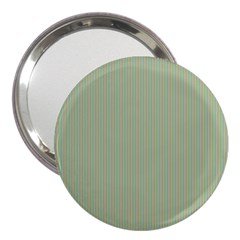 Background Pattern Green 3  Handbag Mirrors by Onesevenart