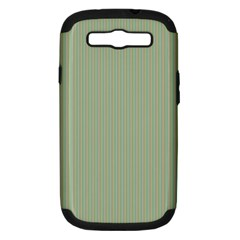 Background Pattern Green Samsung Galaxy S Iii Hardshell Case (pc+silicone) by Onesevenart