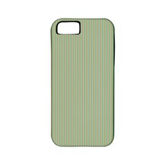 Background Pattern Green Apple Iphone 5 Classic Hardshell Case (pc+silicone) by Onesevenart