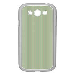 Background Pattern Green Samsung Galaxy Grand Duos I9082 Case (white) by Onesevenart