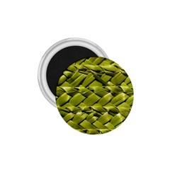 Basket Woven Braid Wicker 1 75  Magnets by Onesevenart