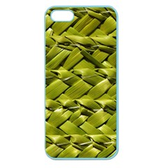 Basket Woven Braid Wicker Apple Seamless Iphone 5 Case (color) by Onesevenart