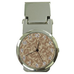 Camouflage Tarn Texture Pattern Money Clip Watches by Onesevenart
