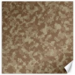 Camouflage Tarn Texture Pattern Canvas 16  X 16   by Onesevenart