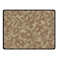 Camouflage Tarn Texture Pattern Fleece Blanket (small) by Onesevenart