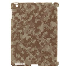 Camouflage Tarn Texture Pattern Apple Ipad 3/4 Hardshell Case (compatible With Smart Cover) by Onesevenart