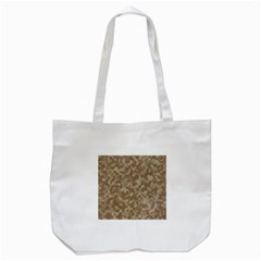 Camouflage Tarn Texture Pattern Tote Bag (white) by Onesevenart