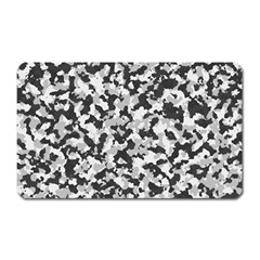 Camouflage Tarn Texture Pattern Magnet (rectangular) by Onesevenart