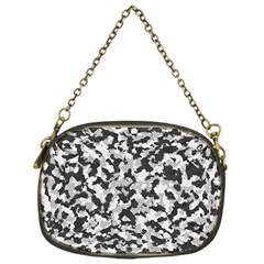 Camouflage Tarn Texture Pattern Chain Purses (one Side)  by Onesevenart