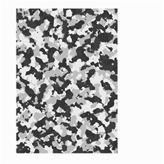 Camouflage Tarn Texture Pattern Large Garden Flag (two Sides) by Onesevenart