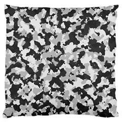 Camouflage Tarn Texture Pattern Large Cushion Case (one Side) by Onesevenart