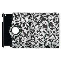 Camouflage Tarn Texture Pattern Apple Ipad 3/4 Flip 360 Case by Onesevenart