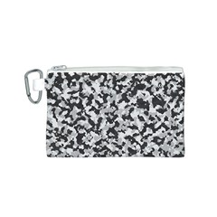 Camouflage Tarn Texture Pattern Canvas Cosmetic Bag (s) by Onesevenart