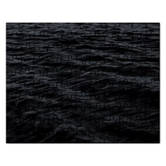 Dark Lake Ocean Pattern River Sea Rectangular Jigsaw Puzzl by Onesevenart