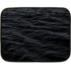 Dark Lake Ocean Pattern River Sea Fleece Blanket (mini) by Onesevenart