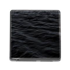 Dark Lake Ocean Pattern River Sea Memory Card Reader (square) by Onesevenart