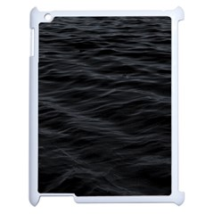 Dark Lake Ocean Pattern River Sea Apple Ipad 2 Case (white) by Onesevenart