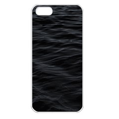 Dark Lake Ocean Pattern River Sea Apple Iphone 5 Seamless Case (white) by Onesevenart