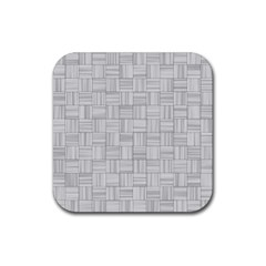 Flooring Household Pattern Rubber Square Coaster (4 Pack)  by Onesevenart