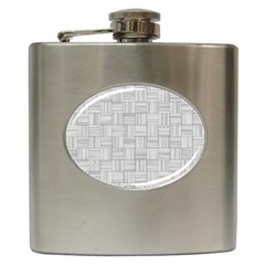 Flooring Household Pattern Hip Flask (6 Oz) by Onesevenart